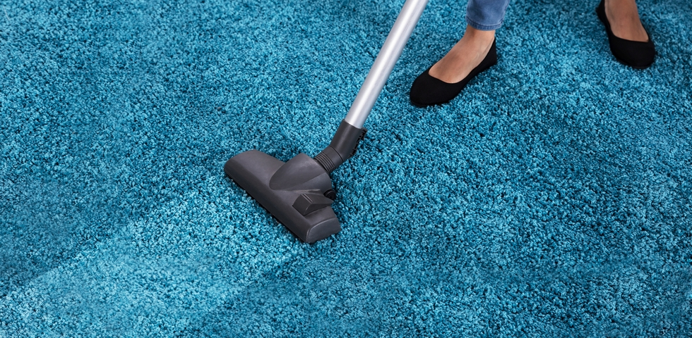 Vacuum cleaners are one of the best office cleaning supplies.