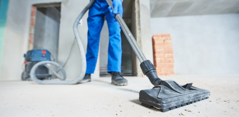 6 Routine Tasks for Post Construction Cleaning