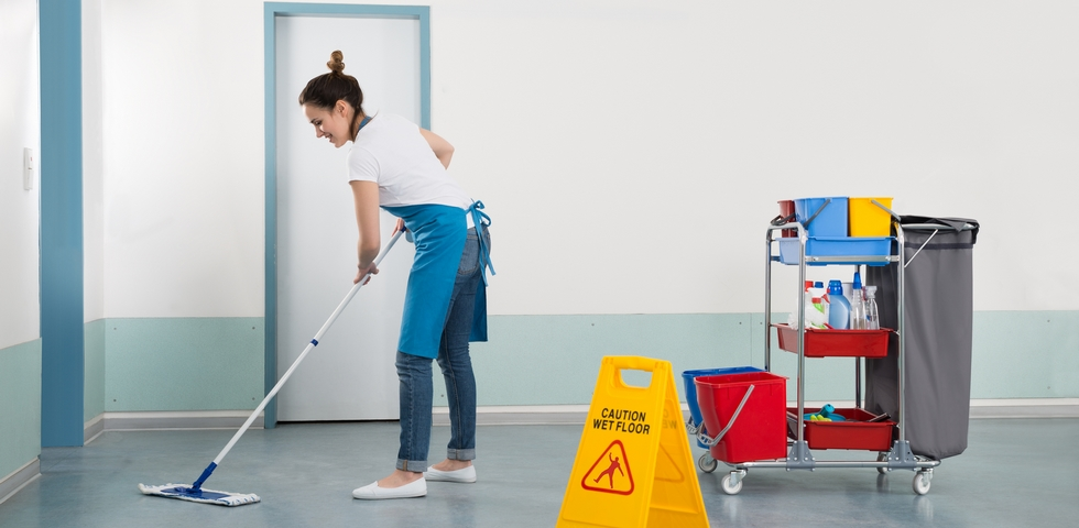Allocate cleaning zones to employees.